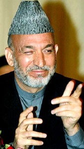 "Afghan President Hamid Karzai winks, nods and tells the world: ""Punishment for democracy?  Pull the other one!"""