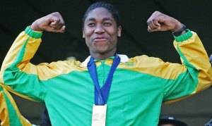 Caster Semenya: She may not be a lady - but she's all woman