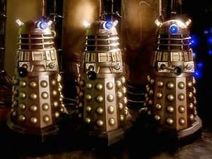 """'I' before 'E', except after 'C'....EXTERMINATE!"""