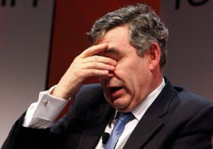 """Gordon Brown, texture like sun""...well how would you like it?"